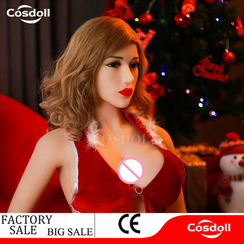 Cosdoll Factory Price 168cm Full Body Silicone <font><b>Sex</b></font> <font><b>Dolls</b></font> <font><b>Big</b></font> Breasts <font><b>Big</b></font> <font><b>Butt</b></font> Real Love <font><b>Doll</b></font> for Men Masturbation Love Companion image