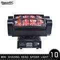 Spider Moving Head Licht RGBW 4 Kleur Podium Verlichting DMX512 voor Birthday Party DJ Disco Thuis 10 stks/partij