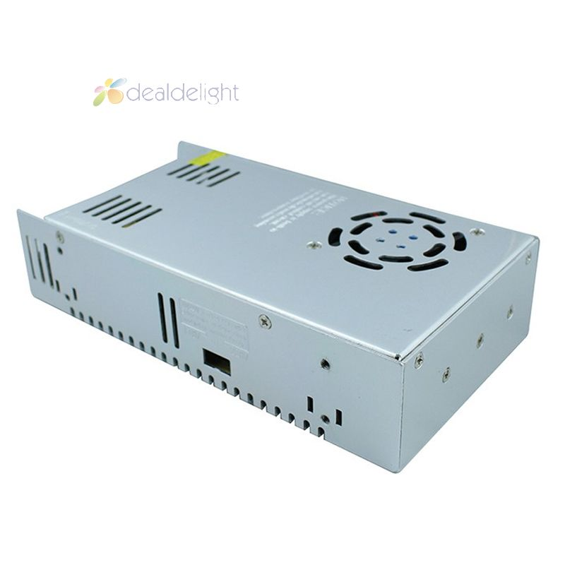 ФОТО High Quality DC12V 30A 360W Regulated Switch Power Supply Transformer Voltage Coverter 100~240V AC Input Free Shipping