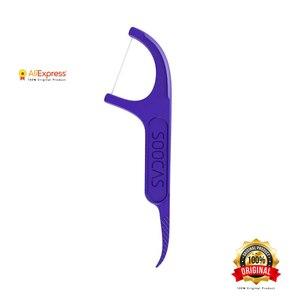 Image 5 - Xiaomi Soocas Toothpicks Dental Flosser Tape Scraper 3 in 1 Xiaomi Soocare Cleaning Professional Dental floss 50 PCS Toothpicks