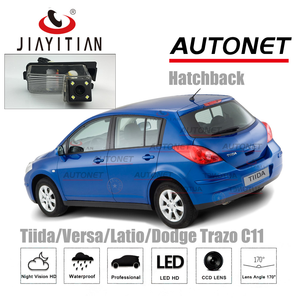 JIAYITIAN Rear View Camera For Nissan Tiida/Versa/Latio C11 Hatchback 2004~2012/CCD/Night Vision/Reverse Camera/Backup Camera