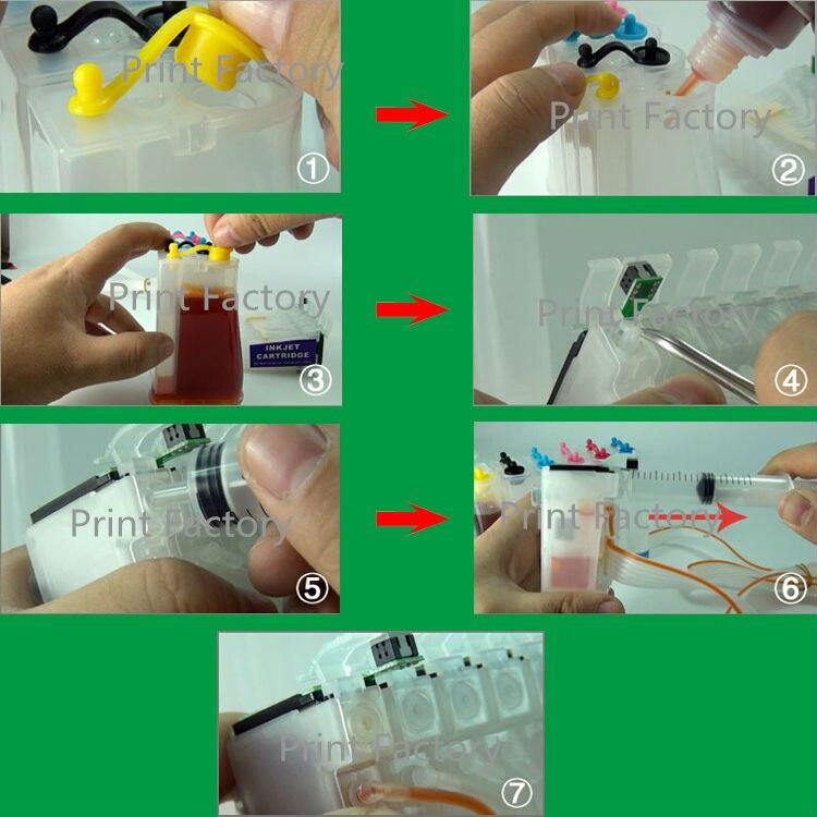 T0731-T0734 sistema de ciss com chip para