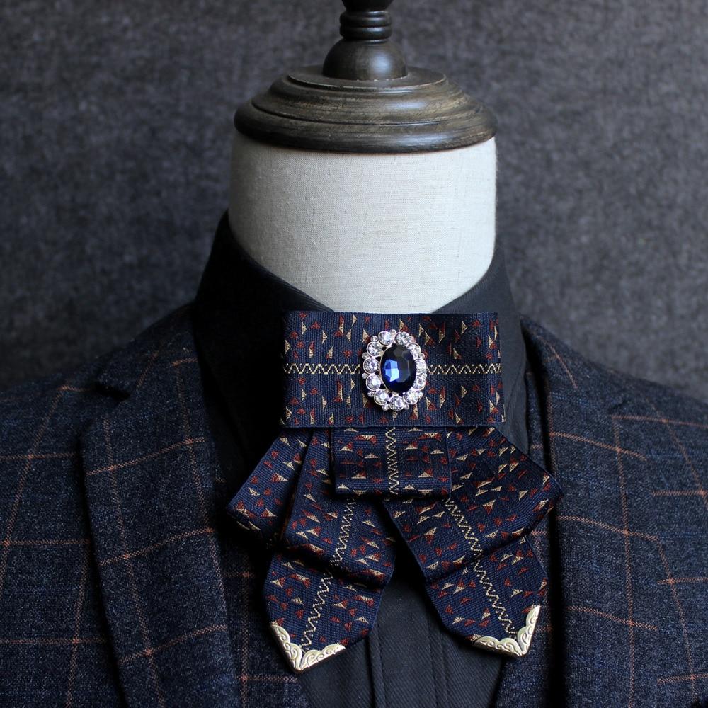 New Free Shipping fashion casual Mens male woman High-grade diamond collar ribbon tie Korean groom groomsman shirt collar host