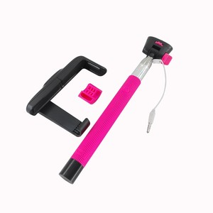 Image 4 - Z07 7 Audio kabel przewodowy Selfie Stick wysuwany monopod własny kij dla iPhone 7 6 plus 5 5S 4S IOS Samsung z systemem Android