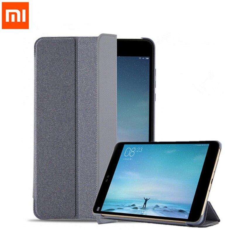 Original Offizielle 1:1 Dünne PU Leder flip Stand Fall Xiao mi mi Pad 2 tablet Smart Abdeckung für mi pad 2 mi pad2 7,9 zoll + film + stift