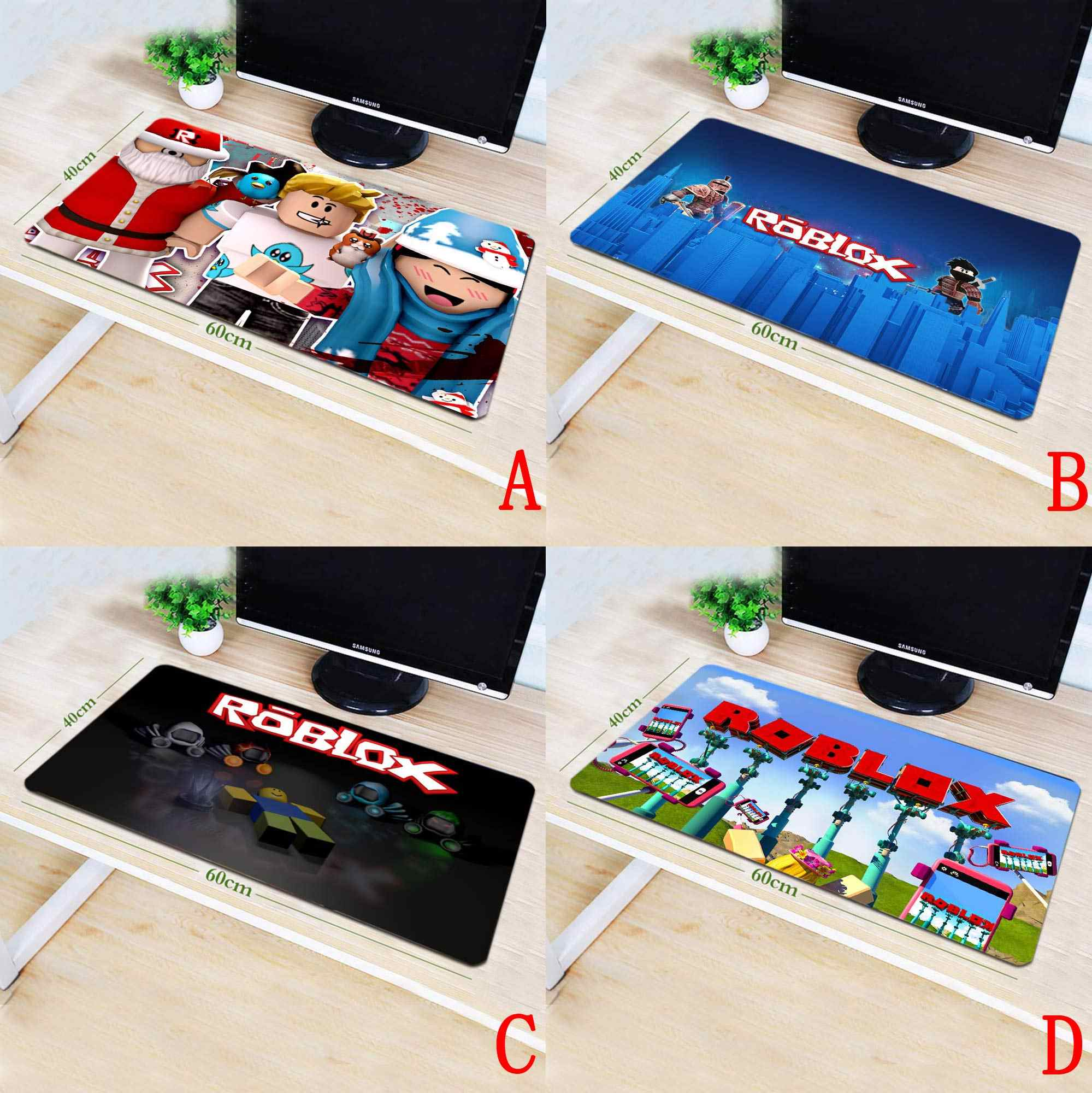 OHCOMICS 40*90cm Game ROBLOX Anti-slip Gaming Mouse Pad Mat Mousepad  Optical Laser Mouse Game Play Costume Accessory Player Gift