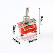10Pcs E-TEN1021 15A 250V AC 2PIN ON-OFF 12mm Toggle Switch Rocker Switch Power
