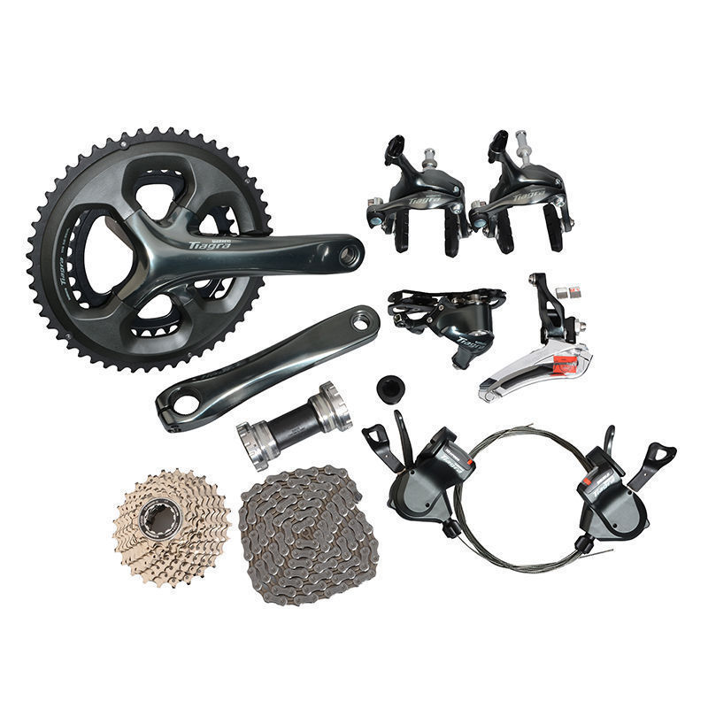 New 2016 Shimano <font><b>Tiagra</b></font> <font><b>4700</b></font> Road Full <font><b>Groupset</b></font> Group 2x10-speed 165mm/170mm/175mm image