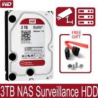 WD30EFRX сети хранения 3,5 ''NAS жесткий диск красный диск 3 ТБ 5400 об/мин 64 м Кэш SATA III 6 ГБ/сек. 3000 GB HDD HD жесткий диск