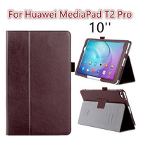 For Huawei Mediapad T2 Pro 10 0 New Arrivel Flip Cover Case Folding Stand Fundas Protective