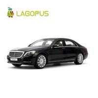 Lagopus 1:18 Масштаб Высокая Моделирование Модель автомобиля игрушки Роскошные Металлические Diecast Автомобили Модель автомобиля CollectionToys для дет