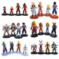 Anime Dragon Ball Z PVC Action Figure Spielzeug stil 4 teile/satz Super Saiyan Goku Modell puppen Sammeln Freies verschiffen