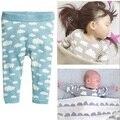 Vestido bobo choses nubes bebé del muchacho arropa sistemas niños ropa larga t shirts + pants 2 unids pijama kikikids bebés que arropan