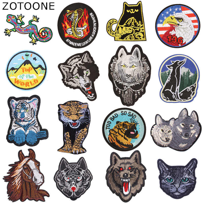 7a47d818c0915 Detail Feedback Questions about ZOTOONE South Side Snake Wolf Tiger ...