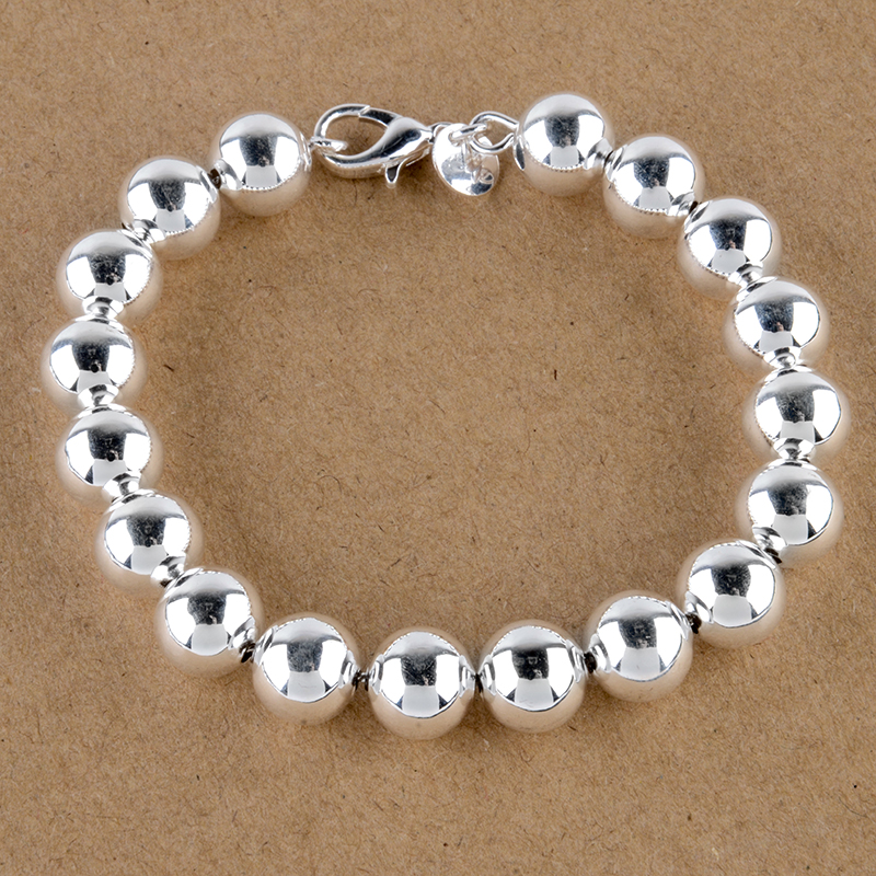 Vintage Antique Silver Plated Bracelet & Bangle Shellhard Charm Buddha Bead Heart Pendant Bracelets For Men Women Jewelry