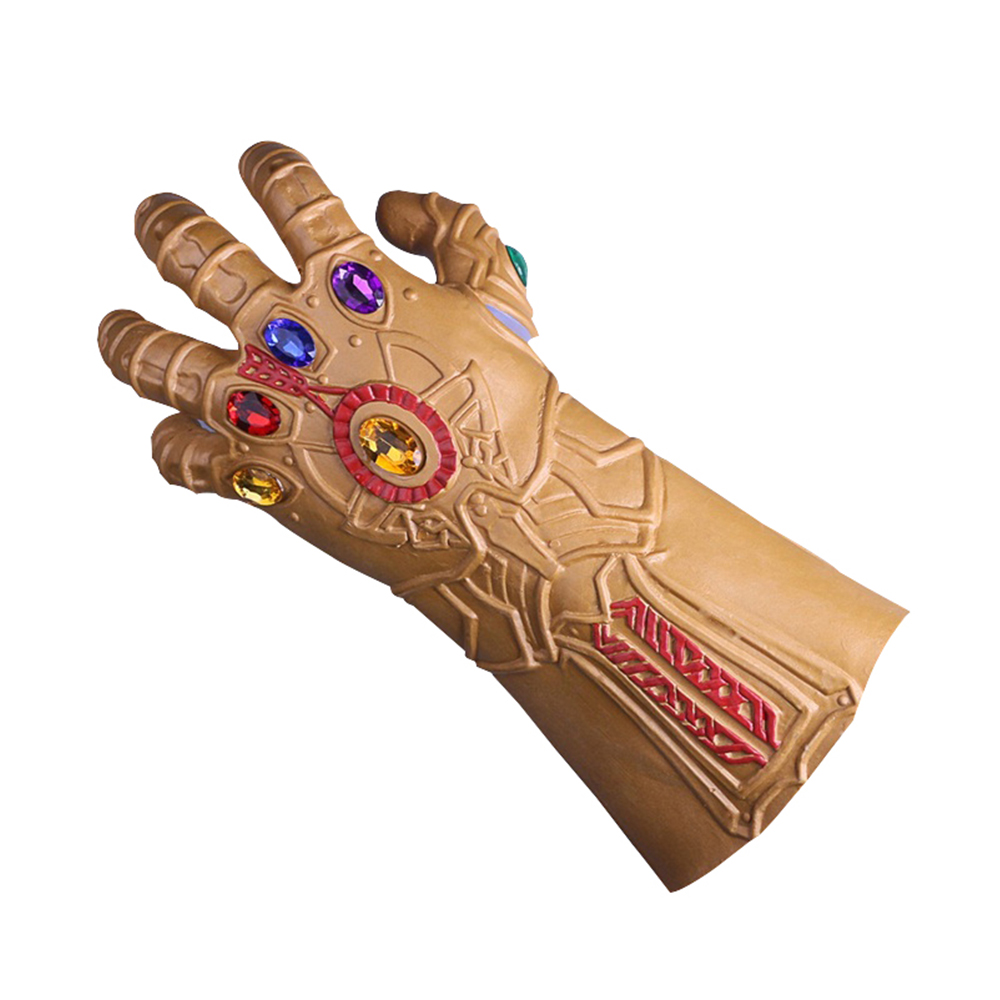 2018 Movie Avengers: Infinity War Thanos Cosplay Gloves Halloween Prop For Adult Marvel Movie Prop