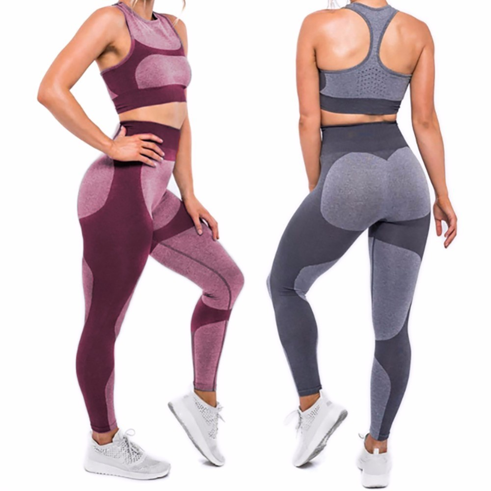2017 Hot Sale Patchwork Hip Leggings Sportswear For Women Bodybuilding Slim Sexy Legging Female Pants Sale