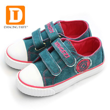 New Solid Kids Shoes High Quality Brand 2016 Casual Canvas Girls Boys Shoes Rubber Sneakers Hook Loop Fabric Children Shoes new 2018 high quality fashion cool kids casual shoes hook
