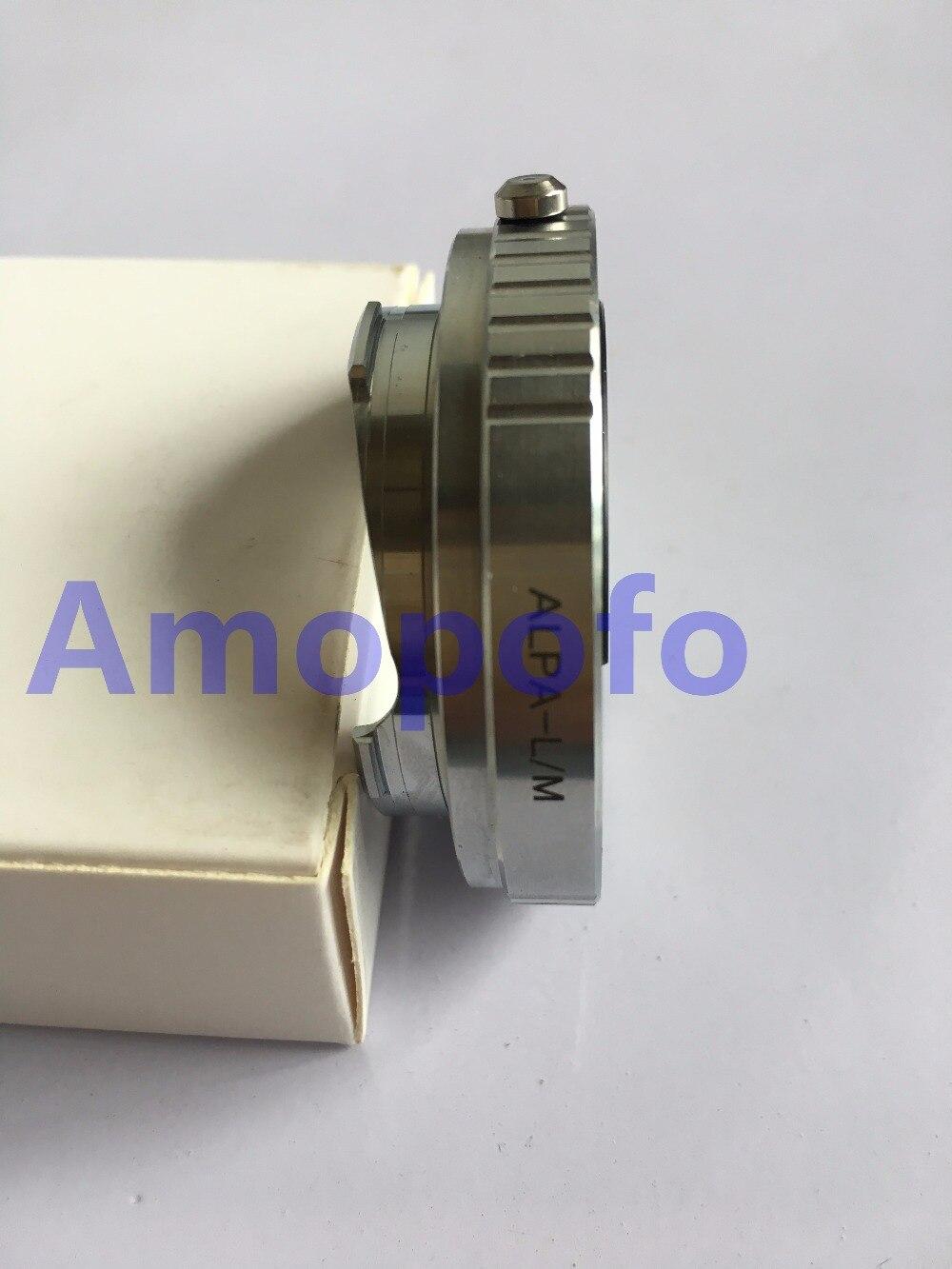 Amopofo, objectif de montage Alpa ALPA-LM pour adaptateur de montage Leica M L/M LM M5 M6 M7 M8 M9 M240 GXR