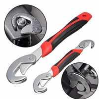 Chave de chaves conjunto universal chaves 2 pces 9-32mm multi-função ajustável portátil torque catraca filtro de óleo ferramentas manuais