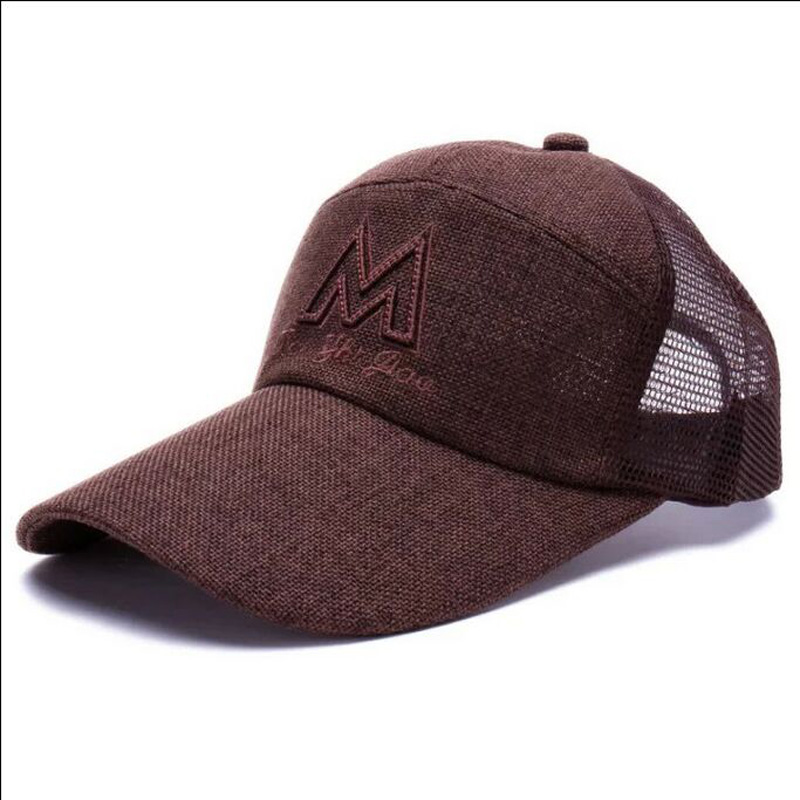 2017 New Sell Like Hot Cakes Baseball Caps Summer Ventilation Fresh And Quick-drying Mesh Yarn Hats For Men