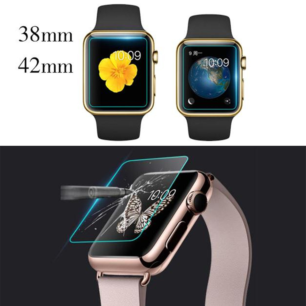 Professional Tempered Glass Film Screen Protector Protection For Apple font b Watch b font Series 38mm