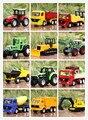 1: 64 Сплава модели автомобиля Сельскохозяйственных тракторов Погрузчиков Гонки детские игрушки разнообразие вариантов