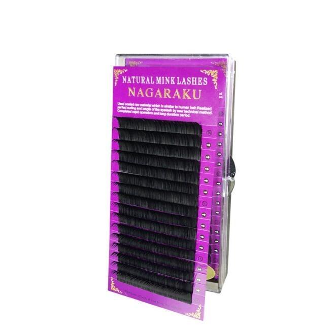 16 rows/case naturally-artificial mink eyelash extension Curve J,B, C, length of 8mm-15mm flare eyelashs eyelash Makeup 31232