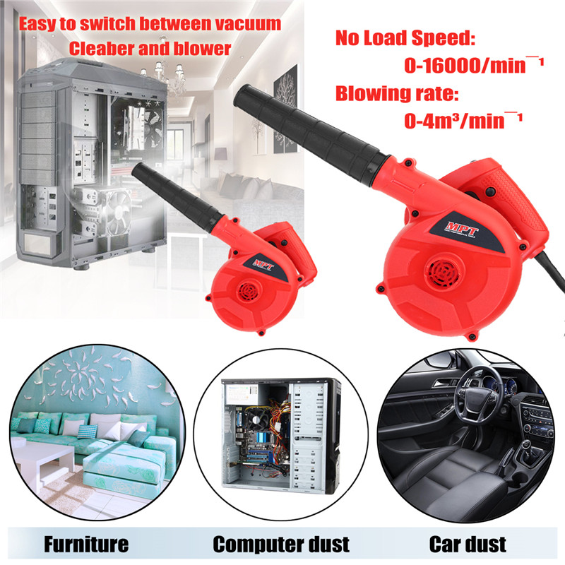 220V 600W Electric Air Blower Portable Handheld Dust Collector Fan Spray Vacuum Cleaner Car Garden Studio Leaf Blowing Remover220V 600W Electric Air Blower Portable Handheld Dust Collector Fan Spray Vacuum Cleaner Car Garden Studio Leaf Blowing Remover