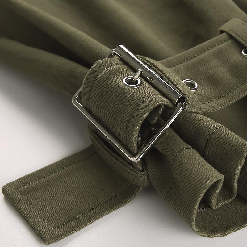 Mulheres Casual Cintura Frete 8