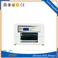 A3 Size Digital Fabric Label Printer Use White Ink Popular Printing Machine