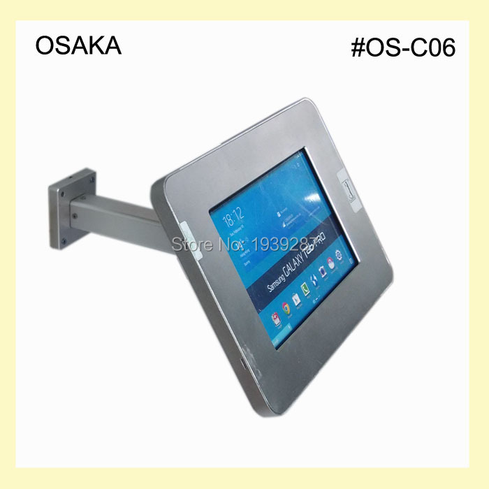 Tablet Wall Mount Security Enclosure For Samsung Tab 10 1