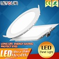 LED Panel Light 600x600 Ultra-thin Ceiling Light 3W 4W 6W 9W 12W 15W White/Warm White Round Square With LED Driver Kit AC85-265V