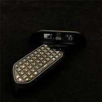 Jeux accessoires pièces Utilisé D'origine 95% Nouveau Noir claviers Chatpad Clavier Pour XboxOne X/Xbox One S/Xbox un/Win10 Clavier