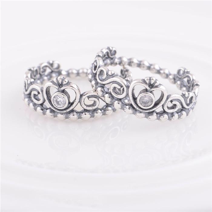 anillo corona de mi princesa pandora