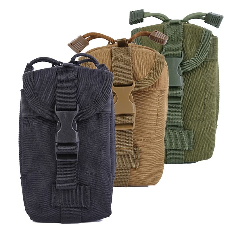 600D Nylon Outdoor Camping Hunting Sports EDC Tactical Bags Packs Condor Molle Gadget Pouch Bags Hunting Bag gadget