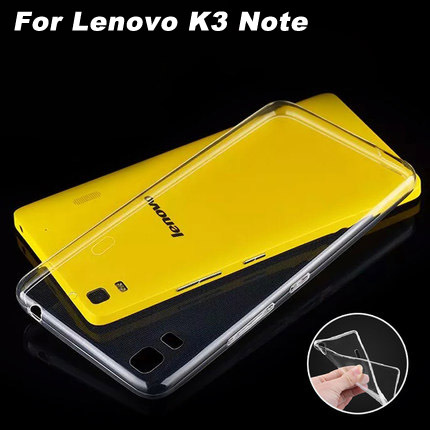 Lenovo K3 Note Case Transparent TPU Soft Case For Lenovo K3 Note High Quality Lenovo K3 Note Soft Cover Case