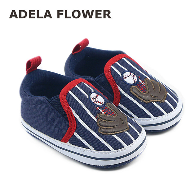 e2d8dc028452 Navy Blue Baby Boy Shoes First Walkers Spring Autumn Soft Sole Slip-On Boys  Girls