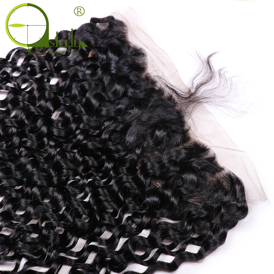 HTB1X8hOosrI8KJjy0Fhq6zfnpXap Sterly Water Wave Bundles With Frontal Closure 13x4 Lace Frontal With Bundles Remy Brazilian Hair Weave Bundles