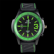 Casual Silicone Band Sport Watches Fashion Simple Military Men Watches Dress Quartz Wristwatch relogio feminino Clock Hours saat