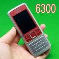 Original Nokia 6300 Mobile Phone Unlocked RED & Russian keyboard & one year warranty