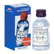 Ricqlès di Primo Soccorso Antisettico (Peppermint Cure) 50 ml