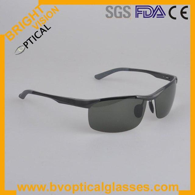 2083 Men fashion with spring hinge Alloy aluminium polarized sun glasses sunshades
