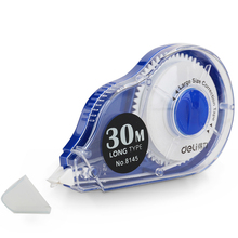30M Long Large Capacity Correction Tape White Sticke Error Corretiva Papeleria Stationery Stucents office & school supplies