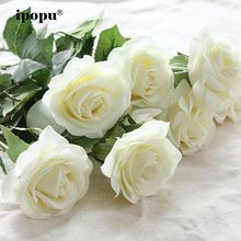 8pcs/11pcs Real Touch Latex Artificial Flowers Wedding Bridal Bouquet Fake Flowers Floral Wedding Party Decorative Flowers