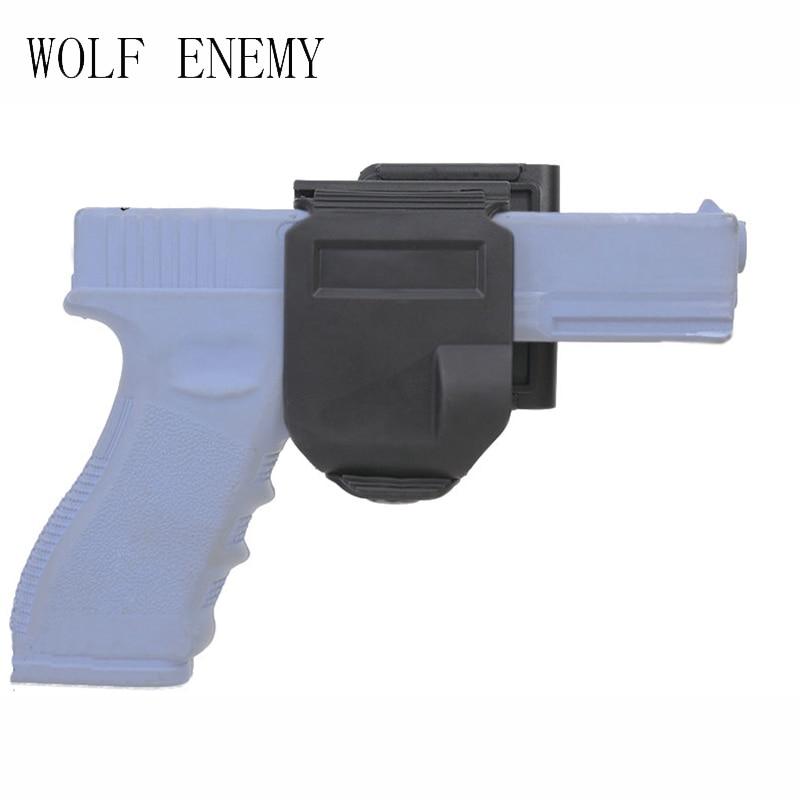 Nové pouzdro na CP modely Pro GLOCK 17/22/23 Tactical Airsoft Paintball Lovecké fotografování Roto pravoúhlá pistole