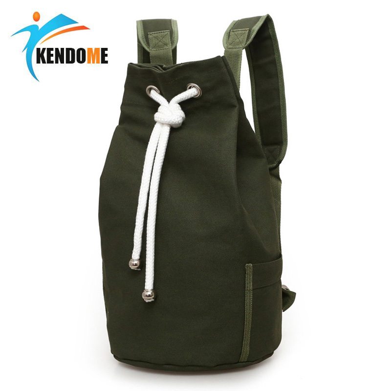 Fashion Men Gym Bag Drawstring Backpack Bucket Sports Basketball Bags For Women Fitness Canvas Rucksuck Sac De Sport Mochila