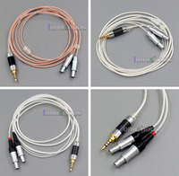 2.5mm Balanced OCC + Silver Plated Copper Cable For Sennheiser HD800 D1000 HD802 HD802s Headphone Headset LN005512