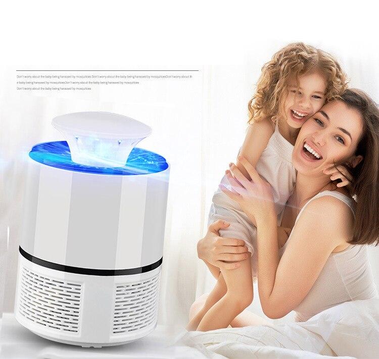 USB Household Radiationless LED Mosquito Killer Lams