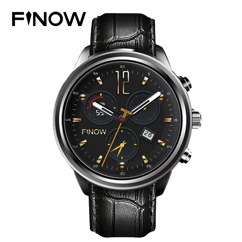 Finow X5 Plus Smart Watch MTK6580 Quad Core 1.39 AMOLED 1G+8G Bluetooth Watches Wifi Heart Rate Wearable Devices For IOS/Android for smart watch lem5 finow x5 x5 plus x5 air q3 charging dock charger
